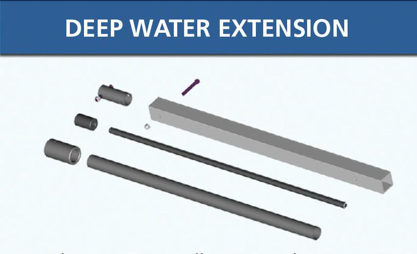Lake Groomer Deep Water Extension